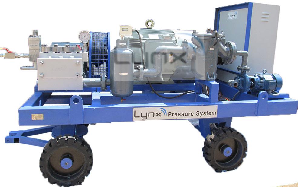 Industrial Boiler-Condenser-Evaporator-Heat Exchanger Tube Cleaning Machine