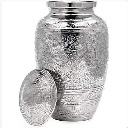 Aluminium Metal Urn