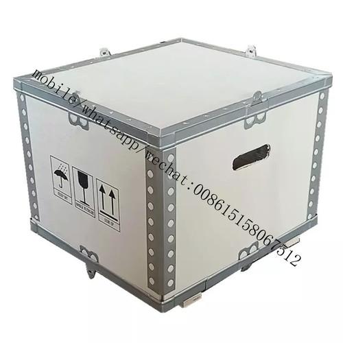 Nailless collapsible no nail foldable plywood box