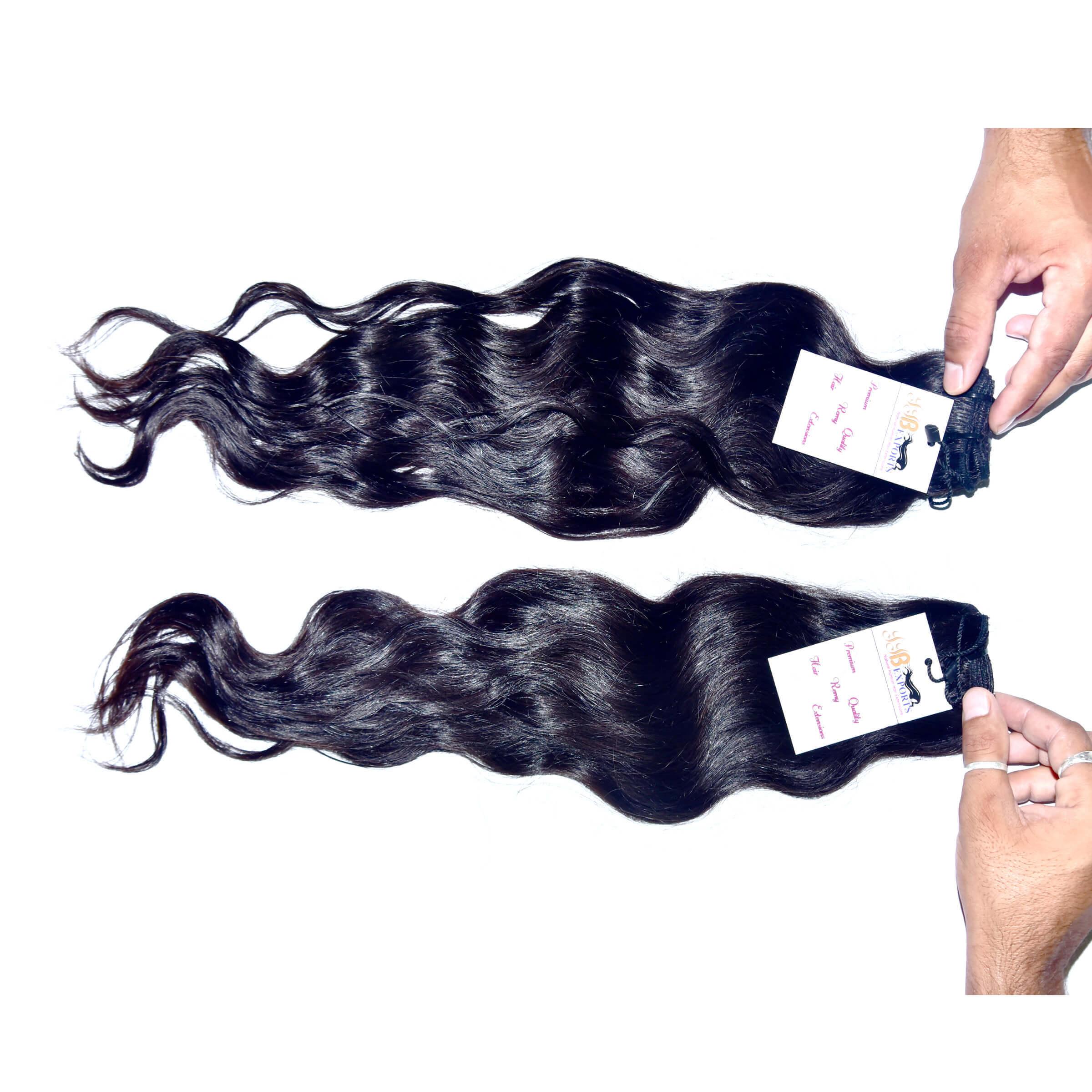 Mink Unprocessed Wavy Hair Extension