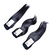 High Quality Natural Raw Virgin Unprocessed Mink Indian Straight Hair Extension