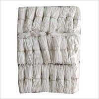 4 Inch Long White Cotton Lamp Wicks