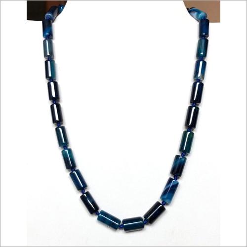 Blue Onyx Gemstone Necklace