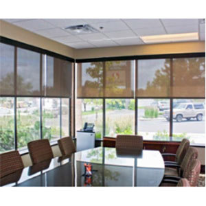 Commercial Space Window Blinds