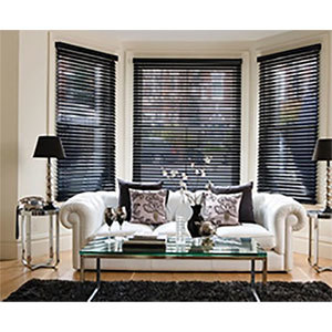 Living Room Window Blinds