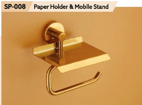 Paper Holder With Mobile Stand