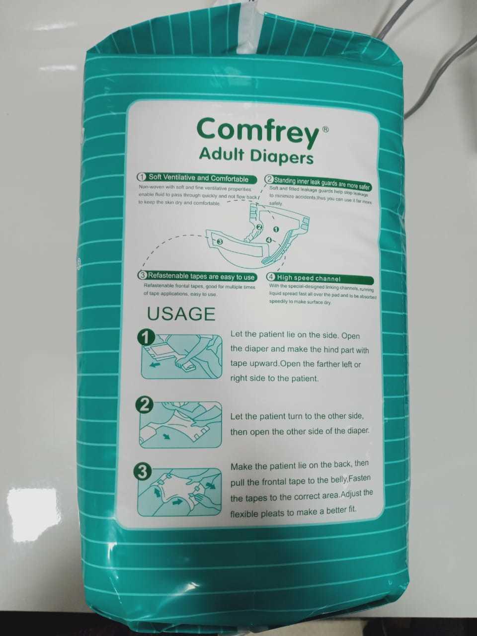 comfrey diapers