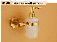 Soap DIspenser With Brass Pump