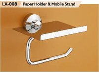 Brass Paper Holder With Mobile Stand