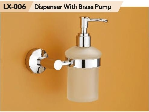 DIspenser With Brass Pump