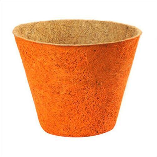 Coir Round Painted Pot
