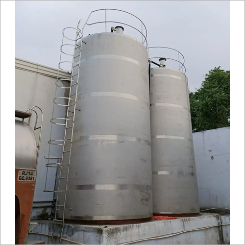 40 KL Vertical Milk Storage Tank