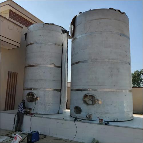 30 KL Vertical Milk Storage Tank