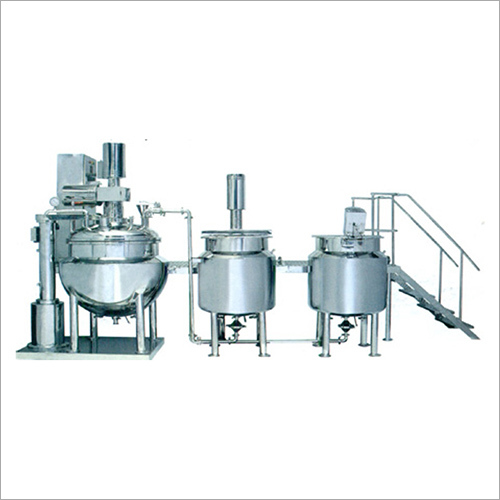 Automatic Cream Ointment Plant
