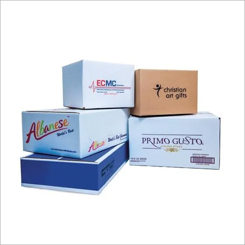 Customized Printed Corrugated Boxes