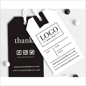 Customized Printed Tags