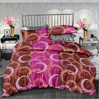 Cotton Printed Double Size Bed Sheet