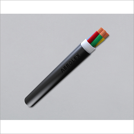 PVC 3 & 4 Core Double Sheathed Round Submersible Cable