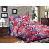 Double Size Kids Printed Bed Sheet