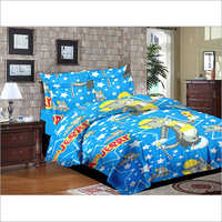 Kids Printed Bed Sheet Double Size