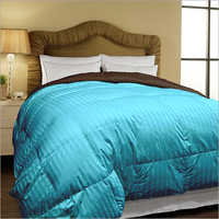 Sky Blue Micro Dyed Reversible Double Size Comforter