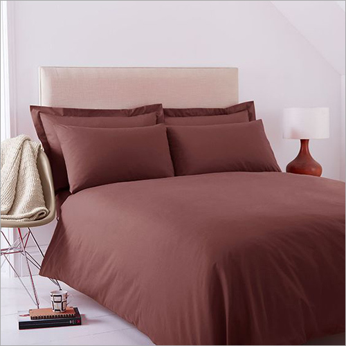 Satin Plain Dyed Bed Sheets