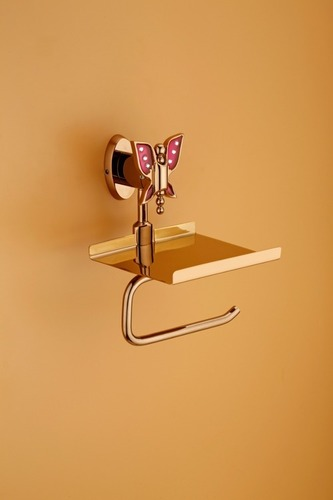 PVD Finish Paper Holder & Mobile Stand