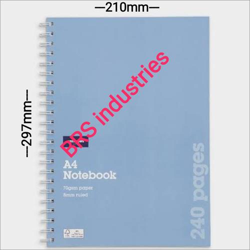 A4 Long Notebook