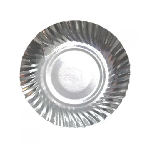 4 Inch Silver Paper Plate