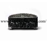 Elephant Nakshi Silver Box