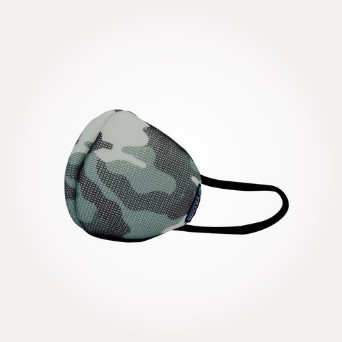 L Size Army Green Face Mask