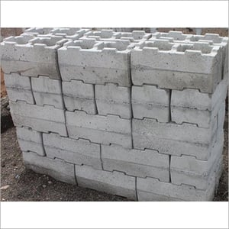 Interlocking Concrete Block