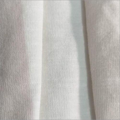 Jersey Cotton Slub Lycra Single  Fabric