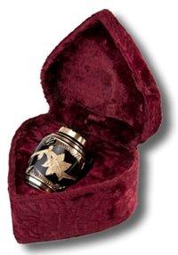 Brass Domtop Keepsake Urn