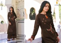 Beautiful Straight Kurti With Bottom