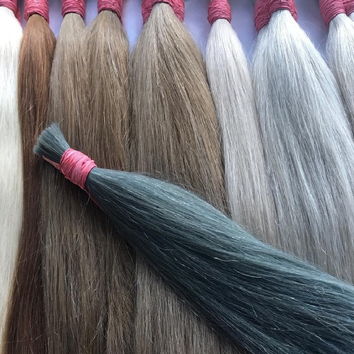 Beautiful Colored Indian Human Hair Extensions