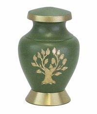 Arcadia Green Keepsake Urn