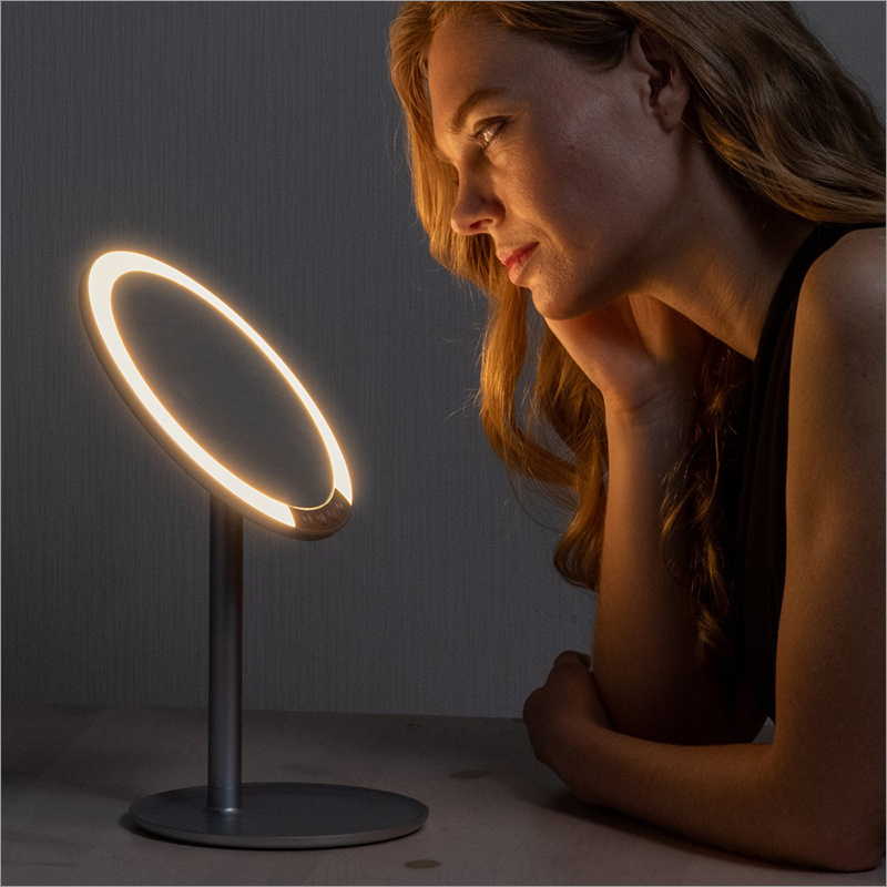 LED STAND MIRROR