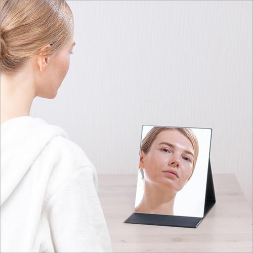 Folding Mirror Size: W 80Mm A  D 108Mm A  H7Mm