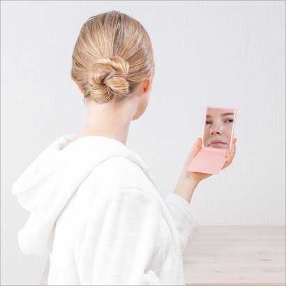 Small Folding Mirror Size: W176Mm A  D225Mm A  H8.5Mm