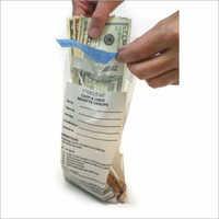 Cash Tamper Evident Security Bag