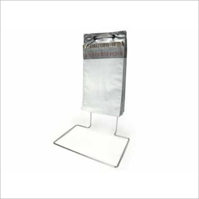 White Plain Plastic Wicket Poly Mailer Bag