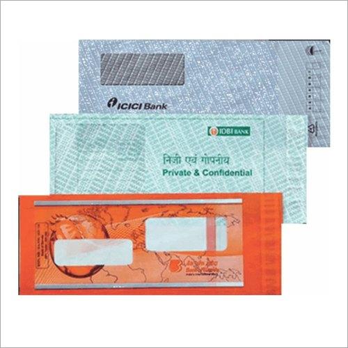 Cheque Book Envelope