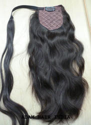 Indian Virgin Ponytail Human Hair