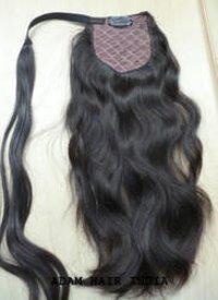 Indian Virgin Ponytail Human Hair
