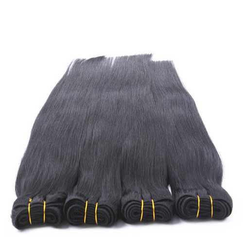 Bouncy And Soft Straight Indian Human Hair Extensions