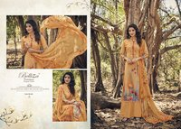 Designer  Digital Print Salwar Suit
