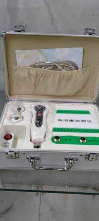 Hair n skin analysis machine
