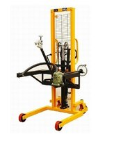 Manual Hydraulic Drum lifter Stacker 350Kg