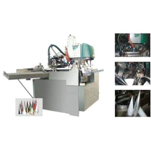 Paper Cone Sleeve Machine